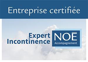 Expert incontinence entreprise certifiée Noé